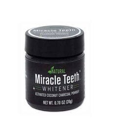 Natural Miracle Teeth Whitener Coconut Charcoal Powder in Pakistan