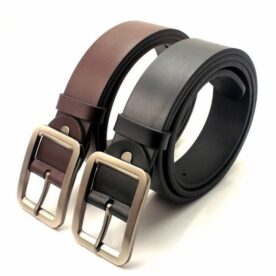 Pack of 2 - Genuine Leather Belts for Men in Pakistan