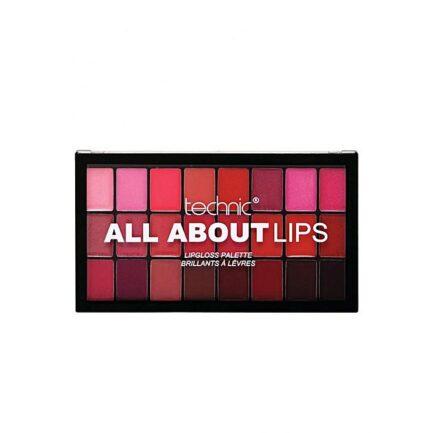Technic All About Lips Lip Gloss Palette in Pakistan