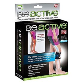As seen on tv Be Active Knee Brace