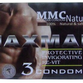Maxman Long Time Delay Condom (Pack of 12 Condoms)