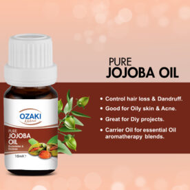 Ozaki Natural 100% Pure Jojoba Oil – 10ml